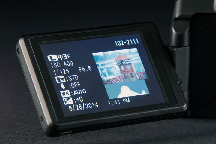 fujifilm finepix s  review screen out