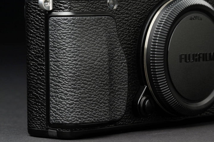 fujifilm x e  review front panel