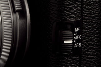 Fujifilm X100S Camera focus switch