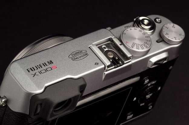 Fujifilm X100S Camera top angle whole