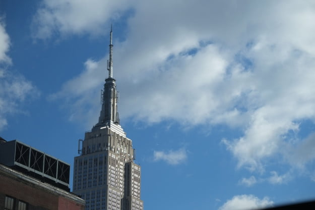 Fujifilm XE 1 review camera sample empire state