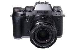 fujifilm x t  review xt graphite front