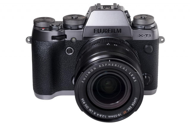 fujifilm x t  receives durable luxe limited edition graphite silver body xt front