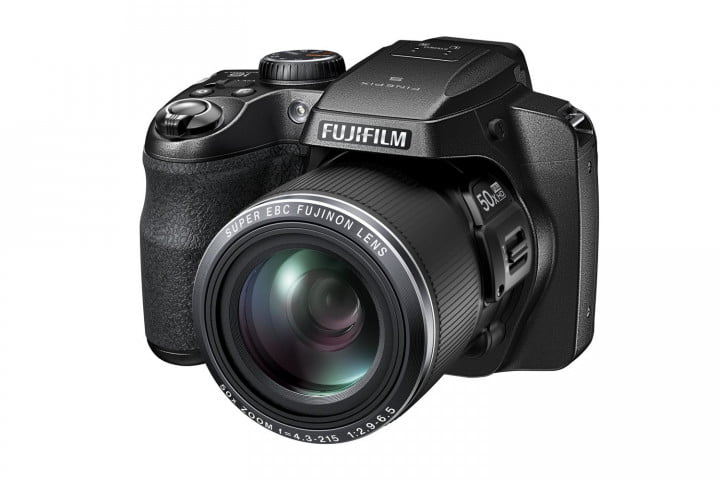 axis stabilization tougher bodies make features new fujifilm finepix cameras s black front left