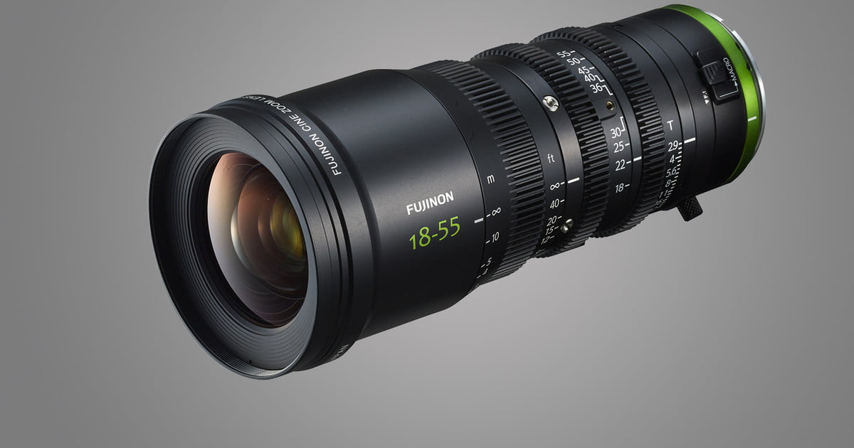Fujifilm launches new cinema lens series designed for performance, affordability