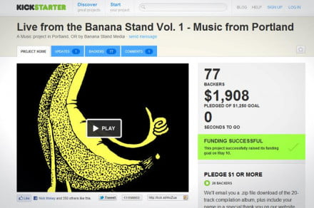 Fun with funding What its like to run a Kickstarter project