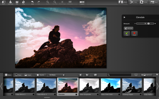 FX Photo Studio for Mac filter effects