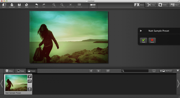 FX Photo Studio Pro for Mac preset