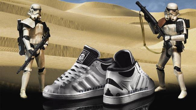 Superskate Mid Stormtrooper from Adidas