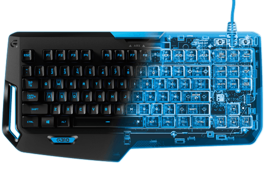 logitech gaming keyboard is good for games