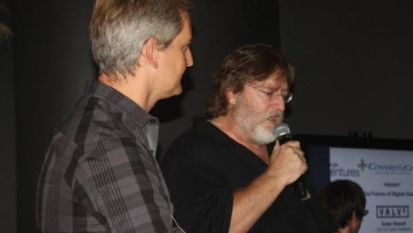 Gabe Newell Valve (Venture Beat photo)