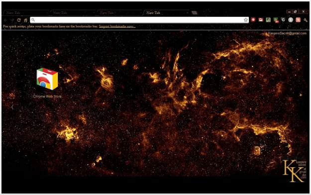 Galactic Center Theme