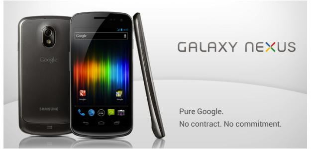 Galaxy Nexus Google Store
