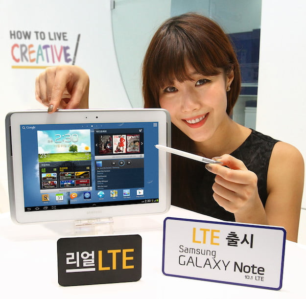 Galaxy Note 10.1 4G LTE Korea