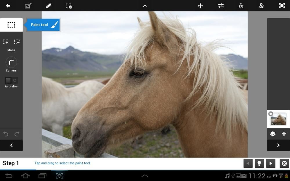 galaxy note 10.1 tablet review photo app screenshot samsung tablet