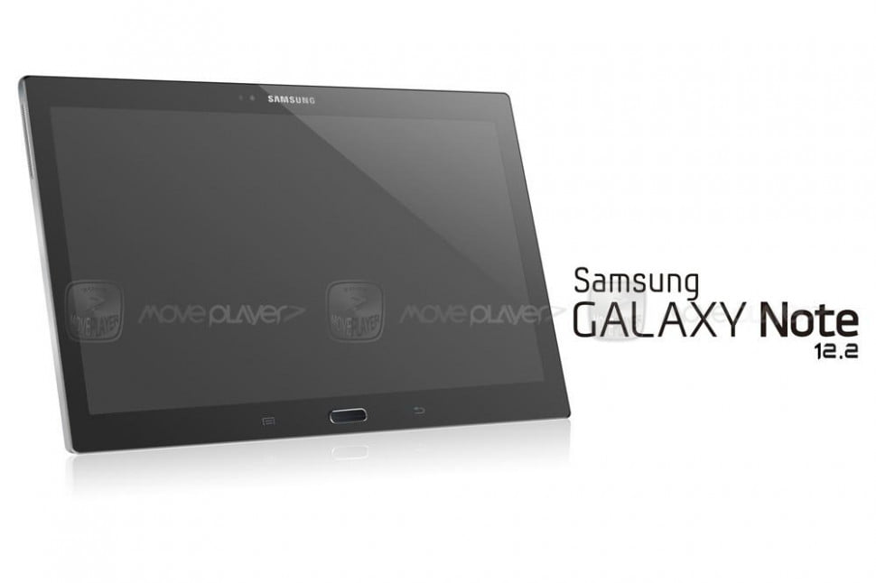 galaxy note 12.2 rumor