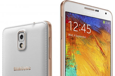 Galaxy Note 3 Rose Gold White