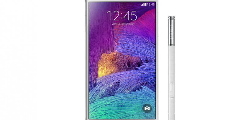 galaxy note  review press