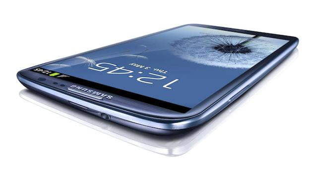 Galaxy S III Top Screen