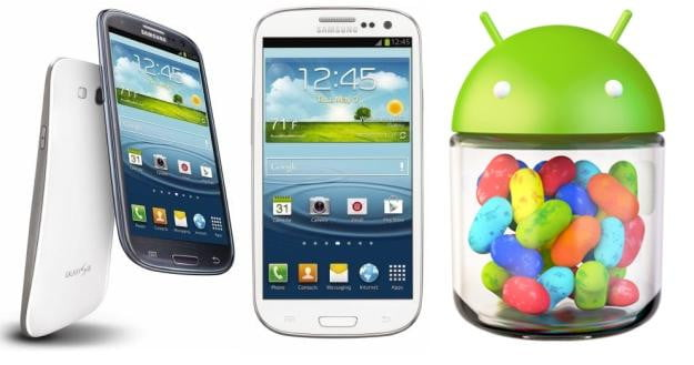 galaxy s  android jelly bean