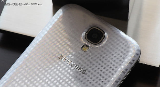 Galaxy S4 2nd Leak Rear