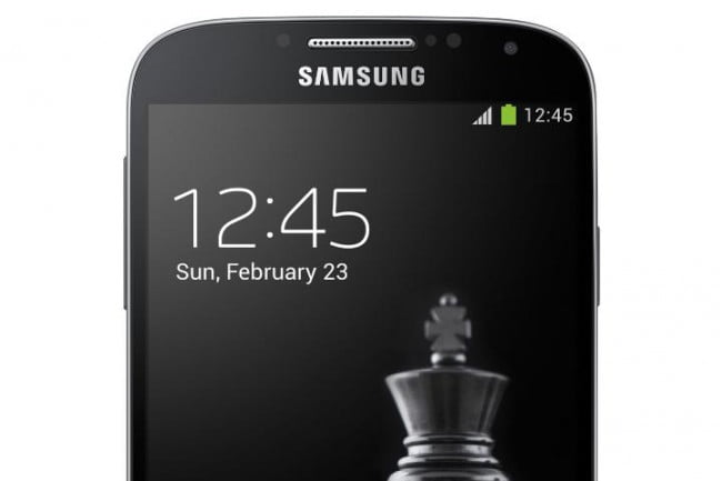 Galaxy S4 Black Edition Front Top