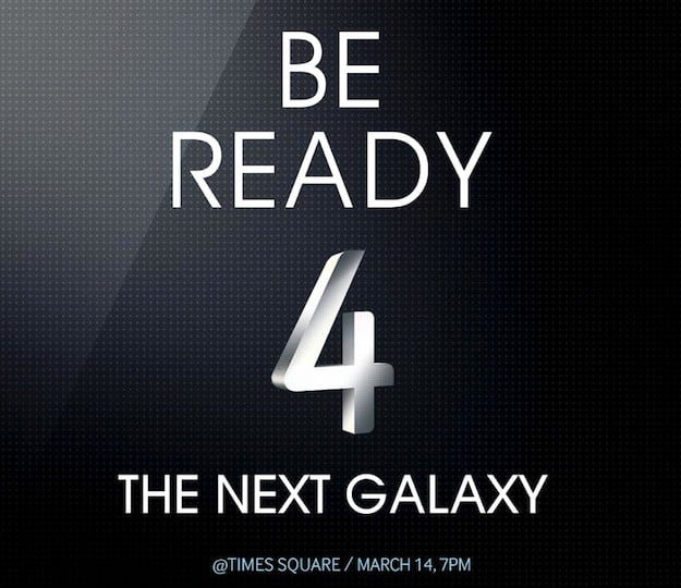 Galaxy S4 Event Invitation