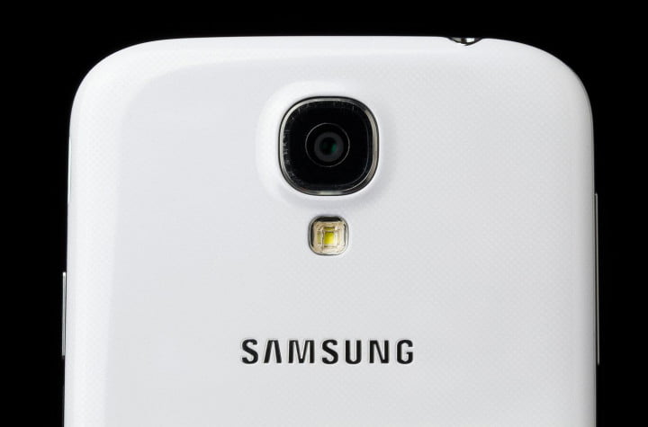 samsung galaxy s  google edition review back top macro