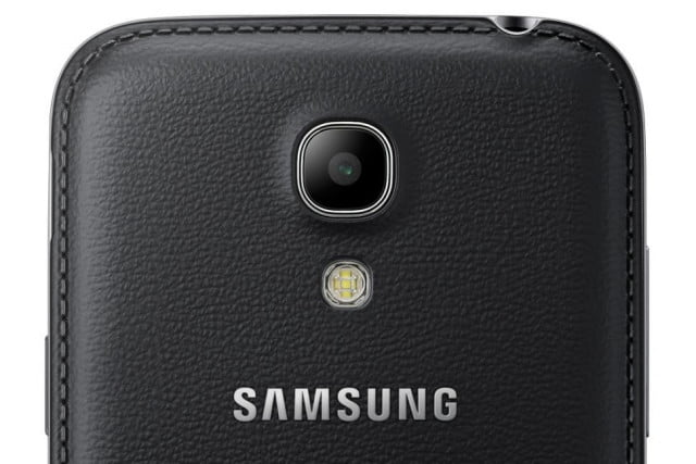 Galaxy S4 Mini Black Edition Rear Top