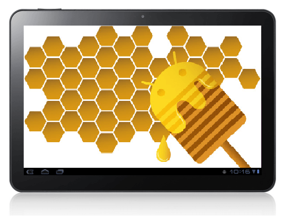 galaxy tab  honeycomb