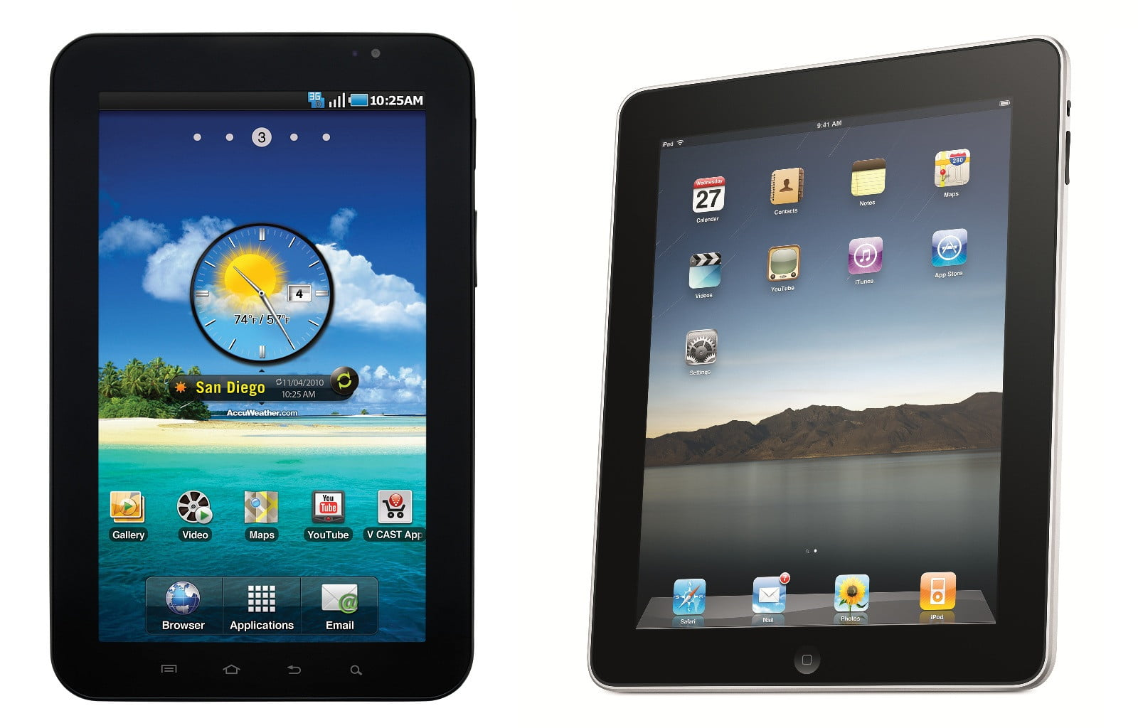 Apple and or samsung to launch retina tablet in february for Ipad o android
