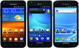 American versions of Galaxy S II S2