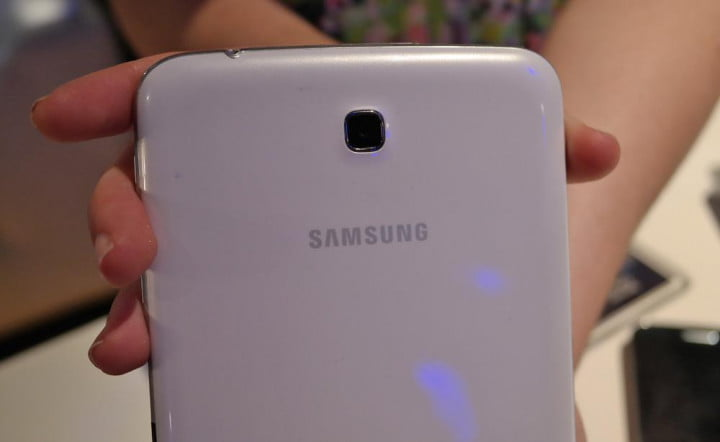 samsung galaxy tab  preview back
