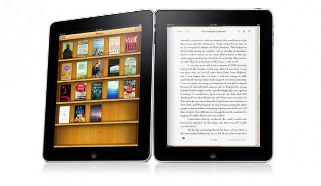 Apple iPad iBooks