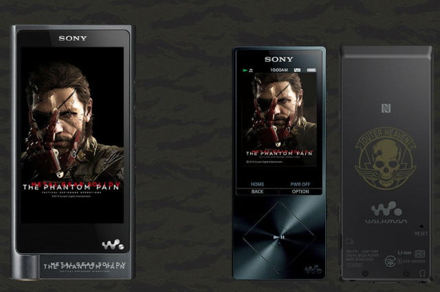 sony japan debuts metal gear solid hi res walkman gallery zx  a mgs