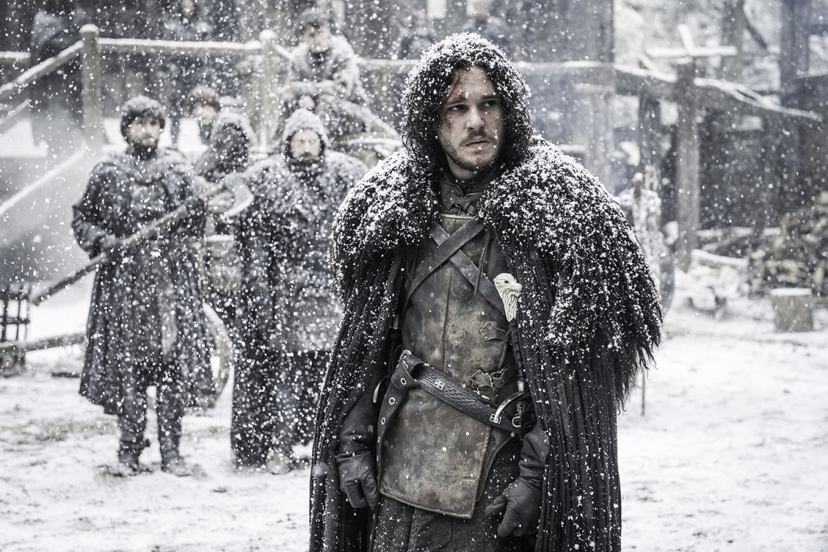 future game of thrones seasons could be seven episodes or less jon snow