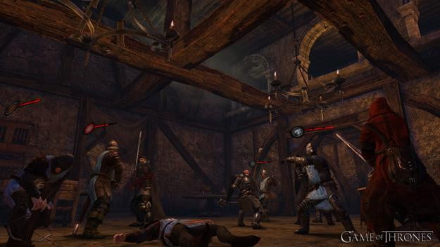 Game of Thrones video game combat screenshot