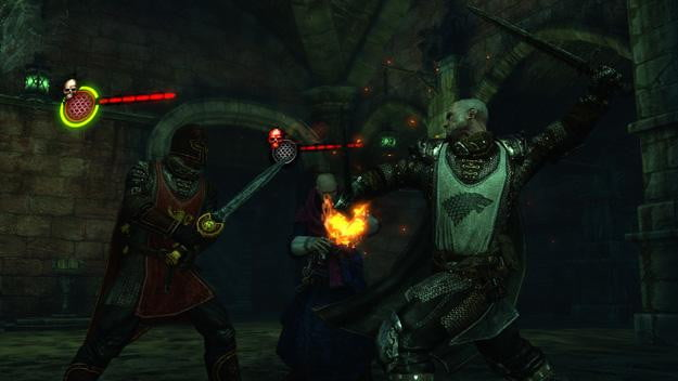 Game of Thrones video game Mors combat screenshot