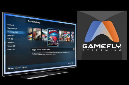 GameFly Streaming on Samsung Smart TVs