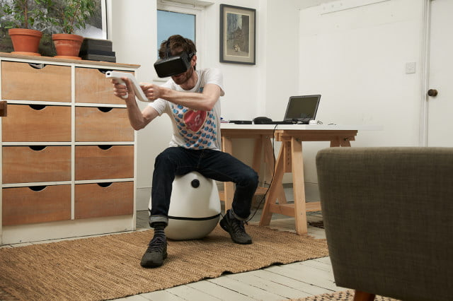 vrgo is a chair designed for virtual reality in game