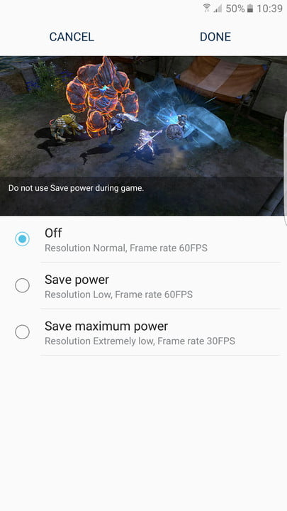 galaxy s  tips and tricks gaming save battery