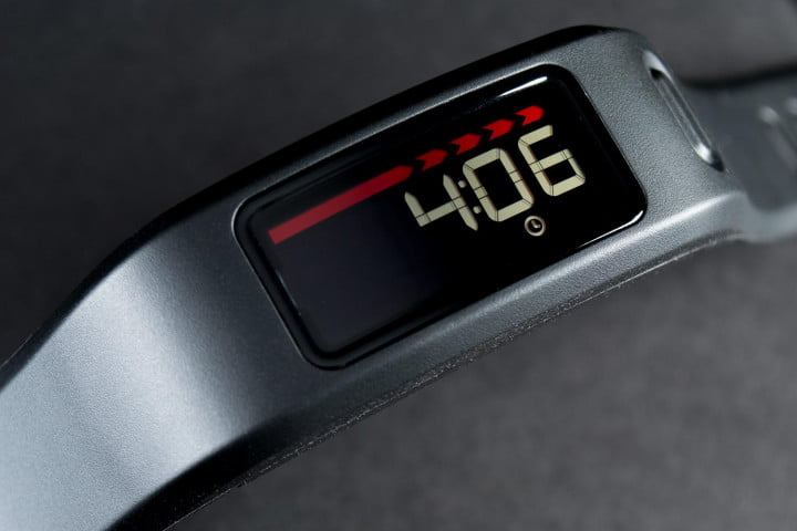 garmin vivofit review vivo push displaytime