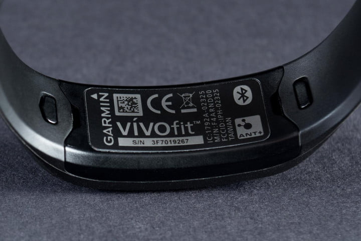 garmin vivofit review vivo push logos