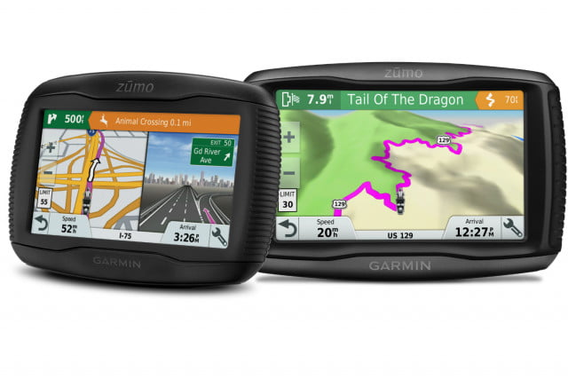 garmin zumo  lm and gps for motorcycles