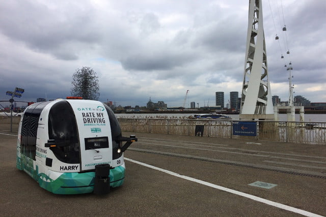 driverless shuttles being tested in the uk gateway shuttle trials