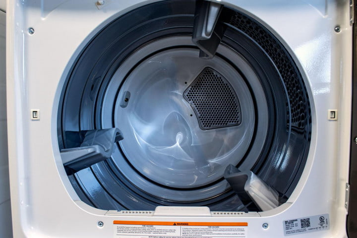 ge gtds  edws review dryer inside
