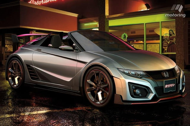 excited hondas s  high performance may way well honda rendering