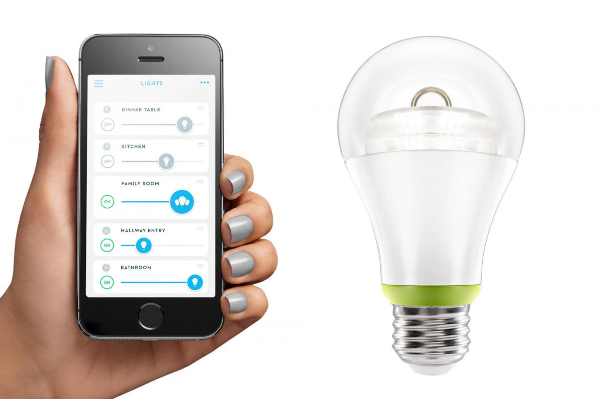 ge joins smart lighting party unveils connected led bulb link