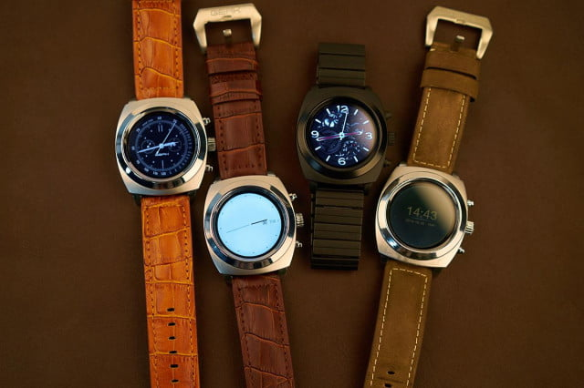 Geak Watch 2 prototypes