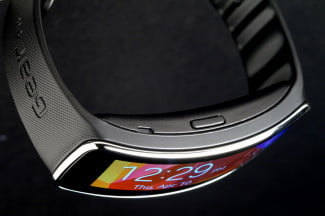 Gear Fit Watch top angle